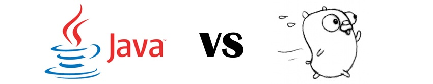 Golang vs Java image
